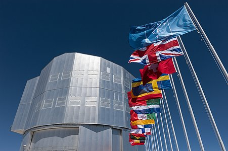 Flags and Unit Telescope 1