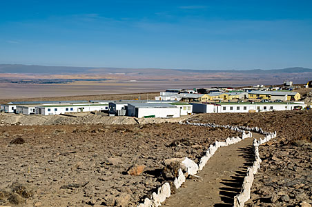 Paths in the desert