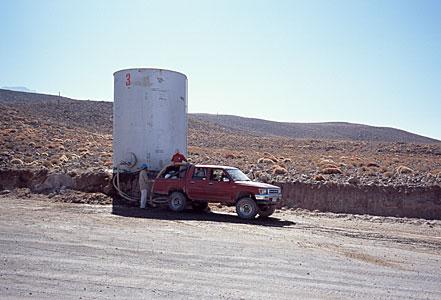 Water Tank along Access Road