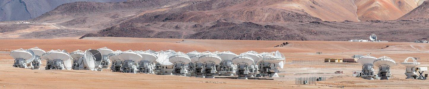 The ALMA array