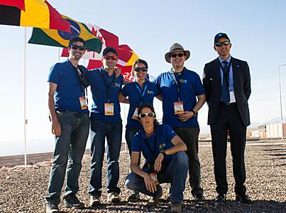 ePOD team, ready for the ALMA inauguration