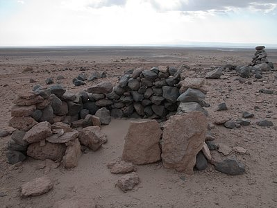 Archaeology in Atacama's Chilean desert