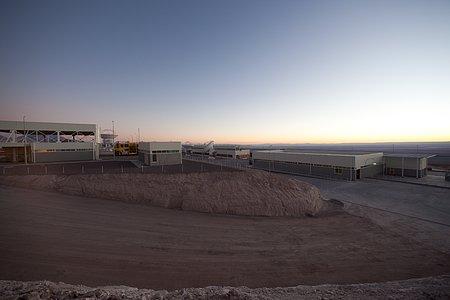 ALMA OSF after sunset