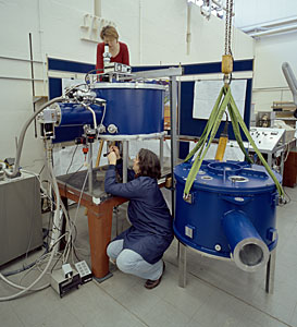 ALMA Assembly Work at the Rutherford Appleton Laboratory