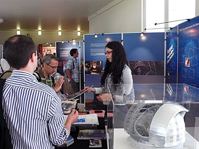 The ESO stand at the JENAM 2010 meeting in Lisbon, Portugal