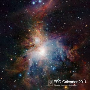 Cover of the ESO Calendar 2011
