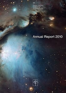 Cover of the ESO Annual Report 2010