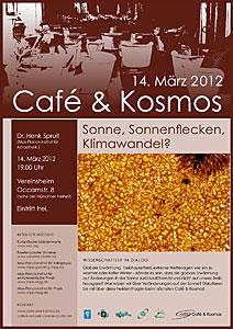 Poster of Café & Kosmos 14 March 2012