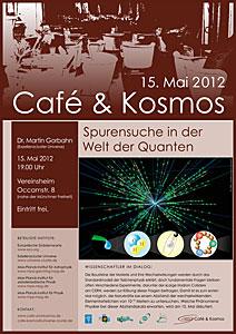 Poster of Café & Kosmos 15 may 2012