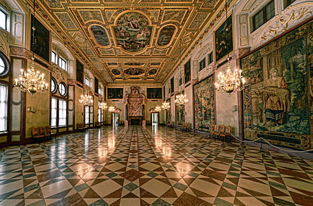Munich Residenz Kaisersaal, Germany
