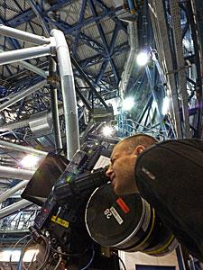 IMAX Filming at Paranal