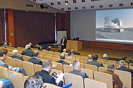 The 2013 ESO Industry Day in Warsaw, Poland