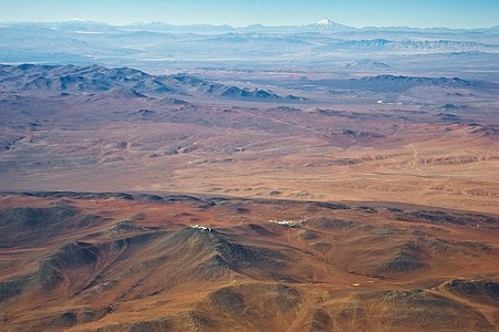 The Paranal-Armazones area