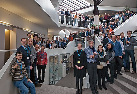 Participants at the conference Shaping E-ELT Science and Instrumentation
