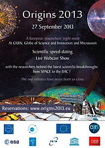 Origins 2013 poster