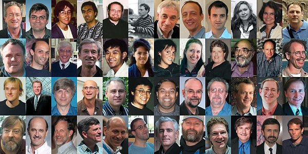 Members of the teams that won the 2015 Breakthrough Prize in Fundamental Physics