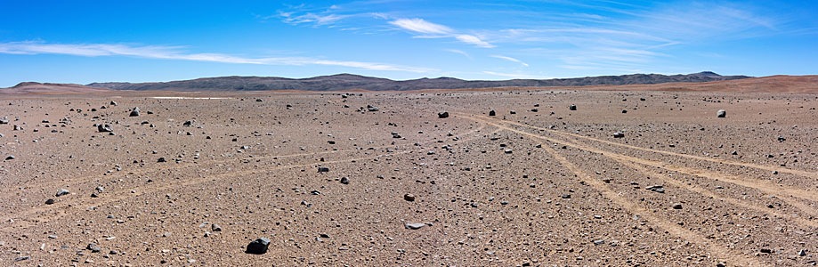 The site of the future Cherenkov Telescope Array