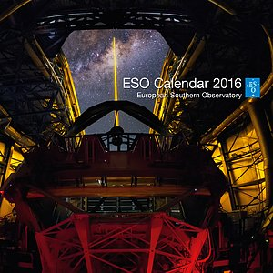 The cover of the 2016 ESO Calendar