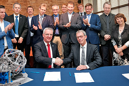 Agreement Signed for METIS Instrument for E-ELT