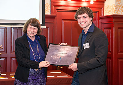 Sebastiaan Haffert wins De Zeeuw–Van Dishoeck Graduation Prize for Astronomy