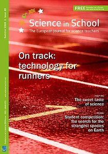 Cover of Science in School issue No.36