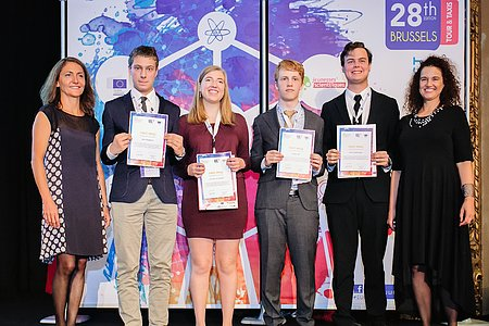 Winners of the 2016 European Union Contest for Young Scientists