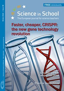 Cover of Science in School issue No.38