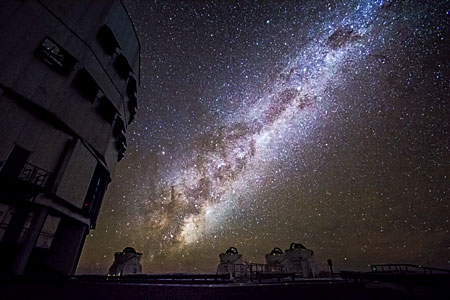VLT and the Milky Way
