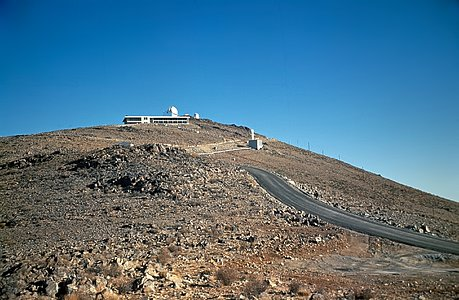 Almost at the Top of La Silla
