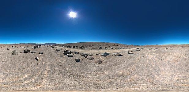 Road to Cerro Armazones