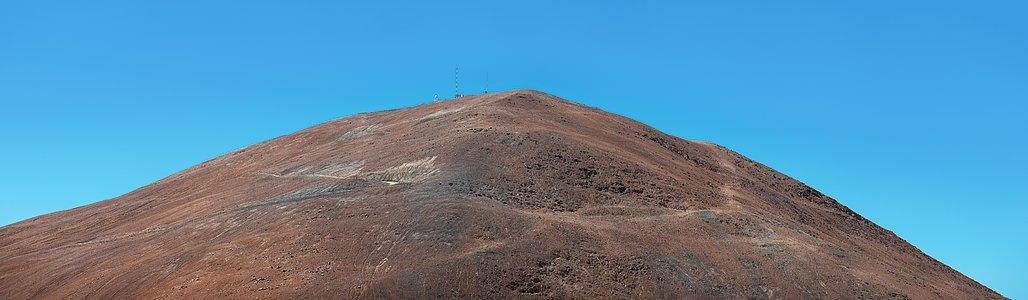 Panorama of Cerro Armazones