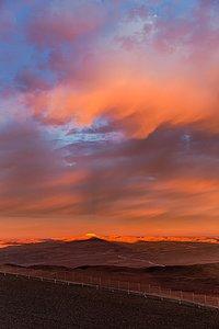 Cerro Armazones under the spotlight