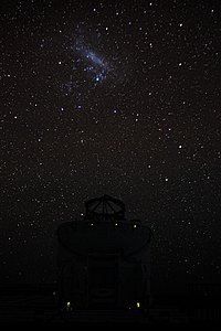 Under the Large Magellanic Cloud