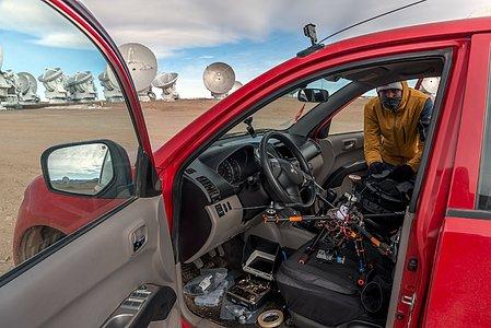 Preparing the drone