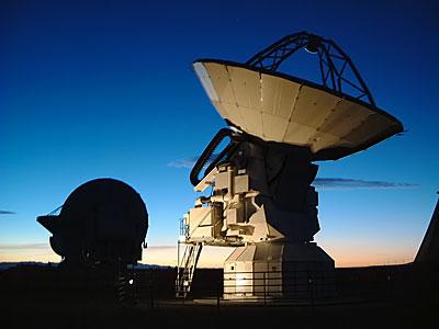 Antena de ALMA