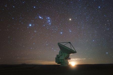 Antenna and stars