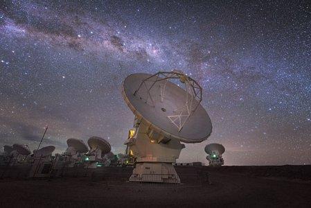 ALMA galaxy streak