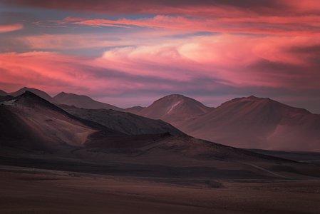 Mountains of ALMA
