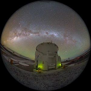 Milky Way slice
