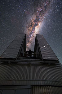 NTT swallows the Milky Way
