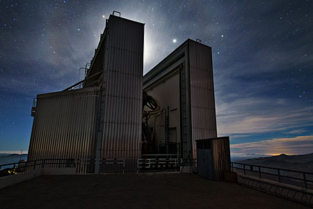 NTT hides the Moon