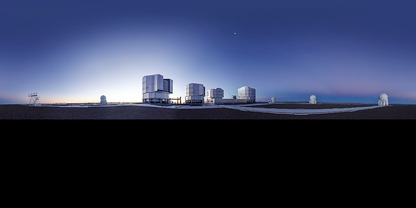 Another clear day at Paranal