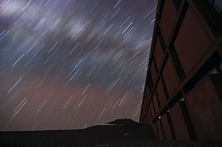 Residencia and startrails