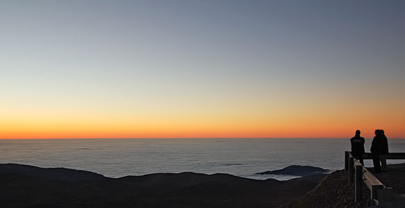 View from Paranal Observatory