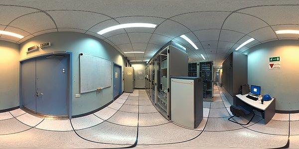 Computer room panorama