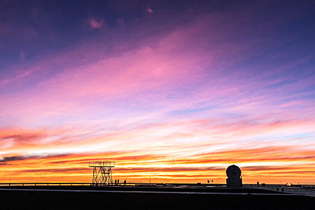 Sunset over Paranal