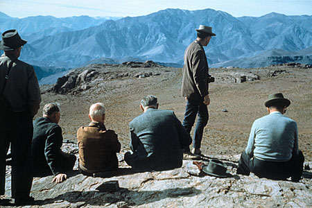 June 1963 - Summit Meeting on Cerro Morado