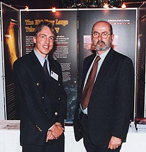 Claus Madsen and Massimo Tarenghi at award ceremony