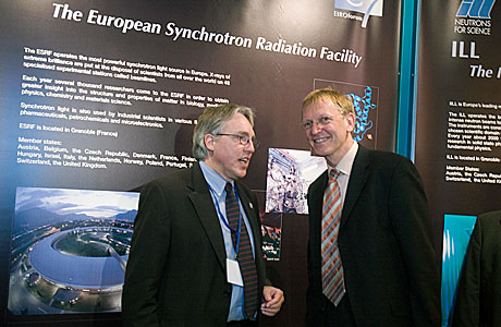 EIROforum information stand at CER 2005