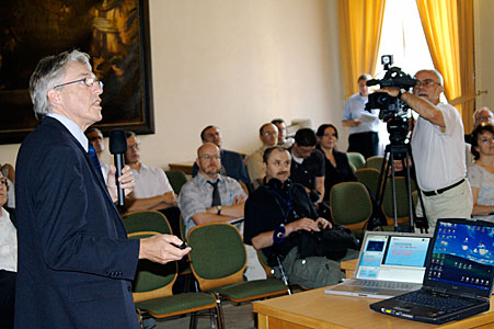 Claus Madsen at ESO Information Day